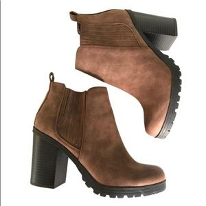 Sam & Libby Brown - Deanna Heeled Boots/Booties 10